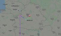 5 Passengers Did Not Reach Vilnius After Forced Belarus Landing