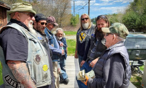 WWII Vet Who Turned 97 on Verge of Losing His House—so Biker Club Step In on His Birthday