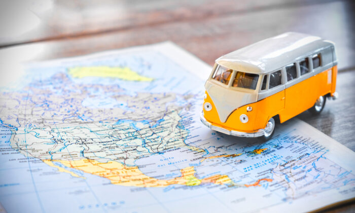 Over 81 percent of participants said they plan to take a road trip this summer, according to a survey by rental car company Hertz. (Luca Lorenzelli/Shutterstock)