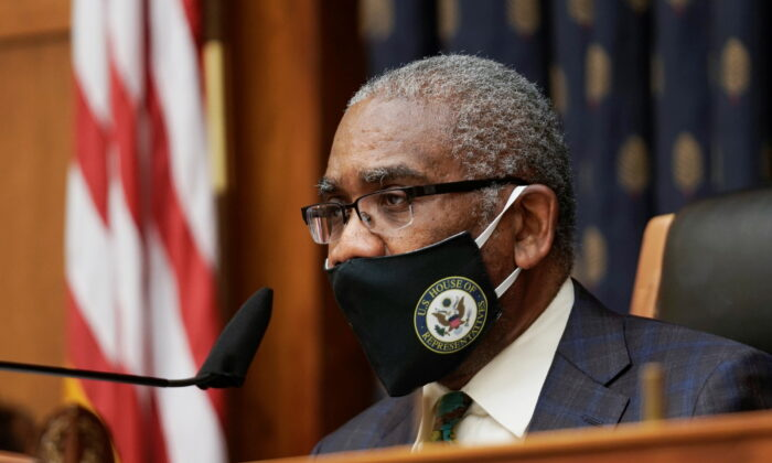 Rep. Gregory W. Meeks (D-N.Y.) on Capitol Hill in Washington, on March 10, 2021. (Ken Cedeno/Pool via Reuters)