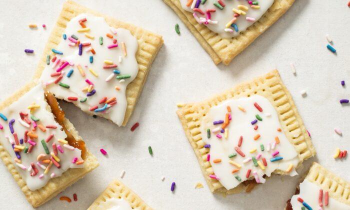 Homemade pop tarts. (Ashley Moore)