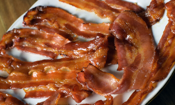Applewood smoked bacon takes on another layer of sweet smoky deliciousness when glazed with brown sugar. (Dreamstime/TNS)