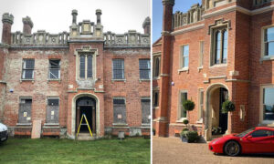 Couple Buy 'Crumbling' 18th Century Mansion, Save It From Ruin in 3-Year-Transformation