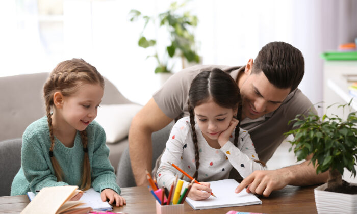 When parents are involved in a child's education, the child succeeds. (New Africa/Shutterstock)