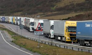 UK Trade With EU Slumps as Brexit Takes Its Toll: ONS