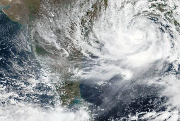 cyclone-yaas-approaching-India