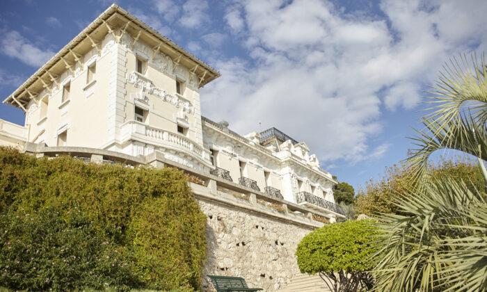 The Italianate-style Villa Gaby in Marseille, France. (Courtesy of Villa Gaby)