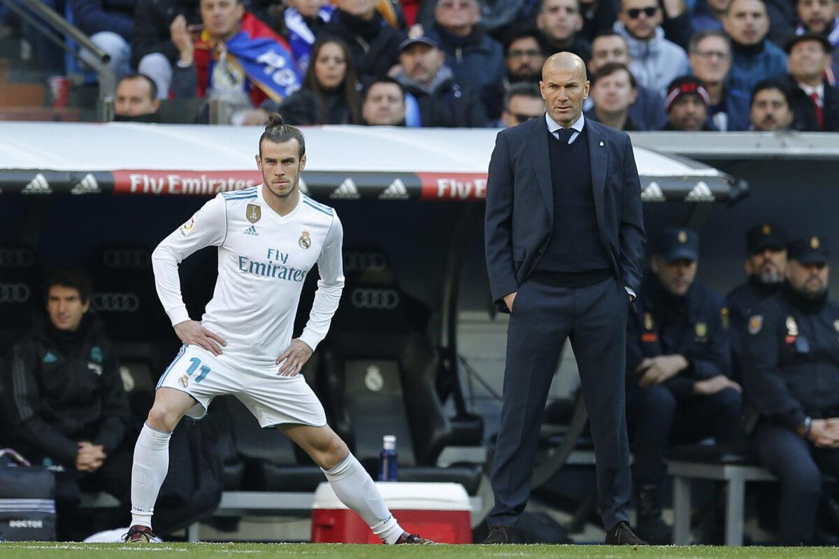 Spain Soccer Real Madrid Zidane