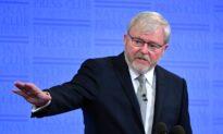 Former Australian PM Kevin Rudd Speaks at China Trade Forum