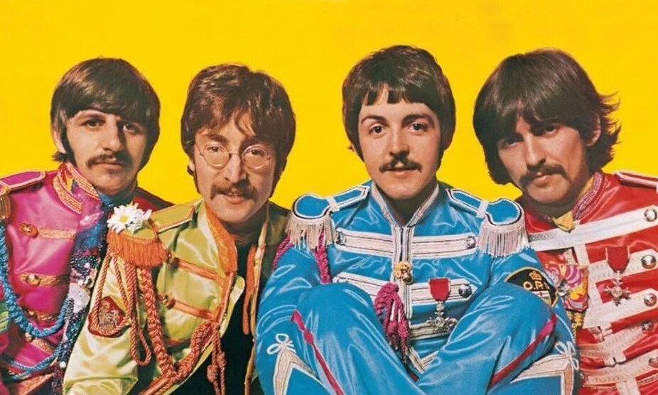 four beatles in the four temperaments