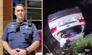 Body Cam Captures Deputy Lifting Overturned Car Single-Handedly, Saving Trapped Woman's Life