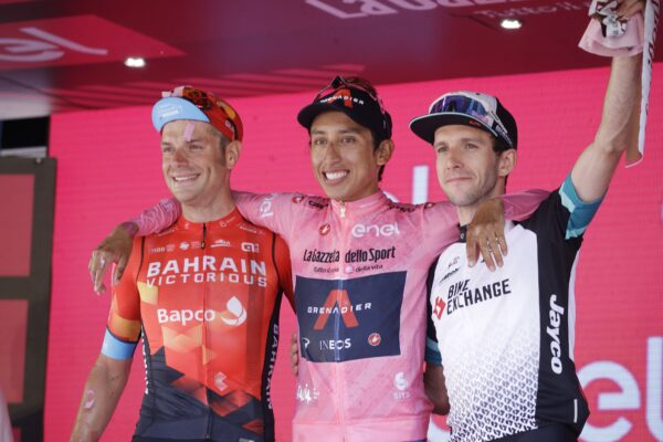 Bernal winner Giro d'Italia