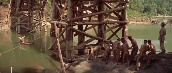building a bridge on the River Kwai