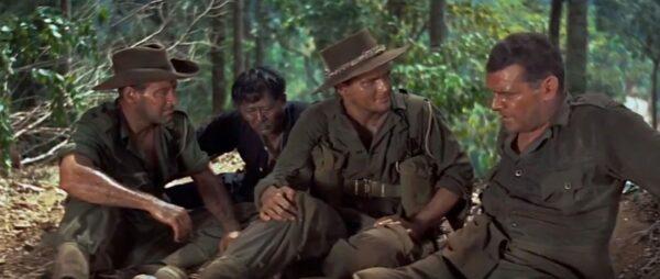 _world war II soldiers in jungle