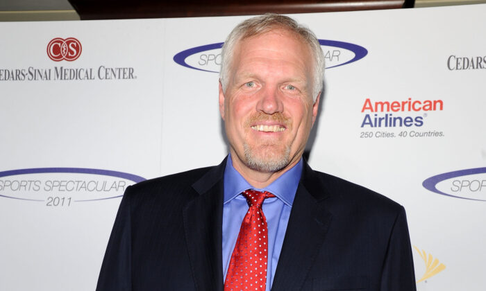 Former NBA player Mark Eaton arrives at the 2011 Cedars Sinai Sports Spectacular at Hyatt Regency Century Plaza in Beverly Hills, Calif., on May 22, 2011. (John Sciulli/Getty Images)