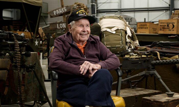 World War II veteran Dick Klein. (Courtesy of WWII Beyond the Call)
