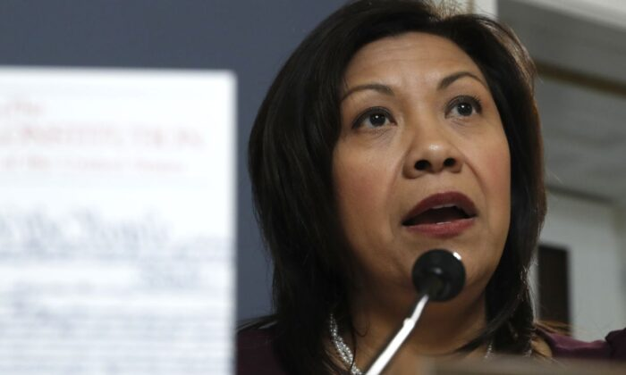 Rep. Norma Torres (D-Calif.) in December 2019 file photo. (Jacquelyn Martin-Pool/Getty Images)
