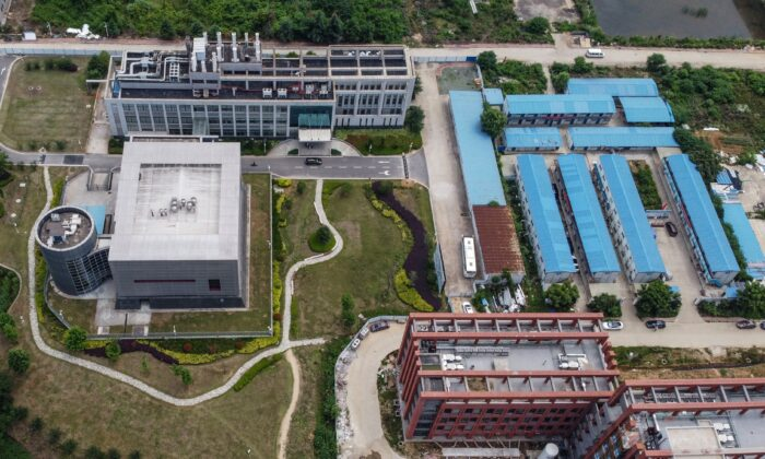The P4 laboratory on the campus of the Wuhan Institute of Virology in Wuhan, in China's central Hubei Province, on May 27, 2020. (Hector Retamal/AFP via Getty Images)