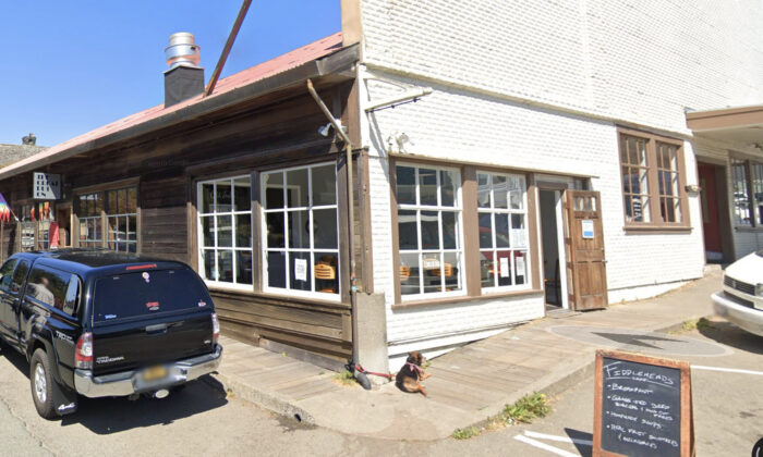 Fiddleheads Café, in Mendocino, Calif. (Screenshot/Googlemaps)