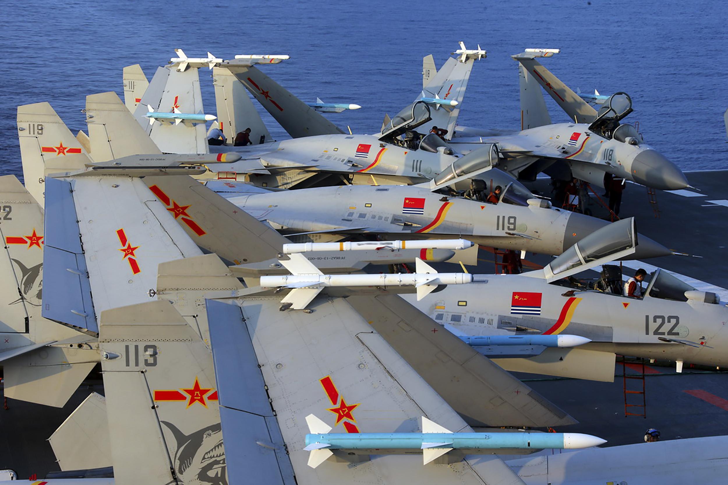 China military planes
