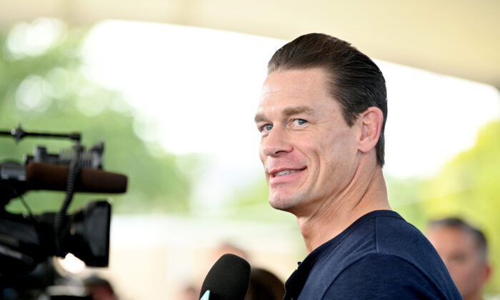 Actor John Cena attends an event in Miami, Fla., on Jan. 31, 2020. (Dia Dipasupil/Getty Images)