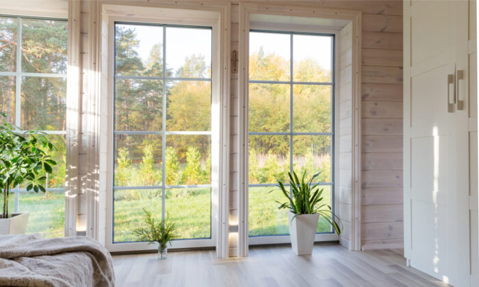 It's surprising how much window and door trim can affect the appearance and style of an entire room. (Olga_Ionina/Shutterstock)
