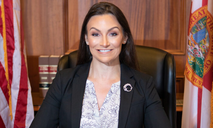 Nikki Fried, Florida's 12th Commissioner of Agriculture and Consumer Services, in an official department photo. (Public Domain)