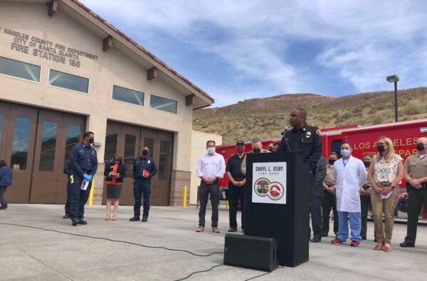 Los Angeles County Fire Chief Daryl Osby