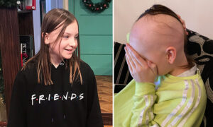Mom Captures Heartbreaking Moment of Daughter Losing Half a Head of Hair to Alopecia