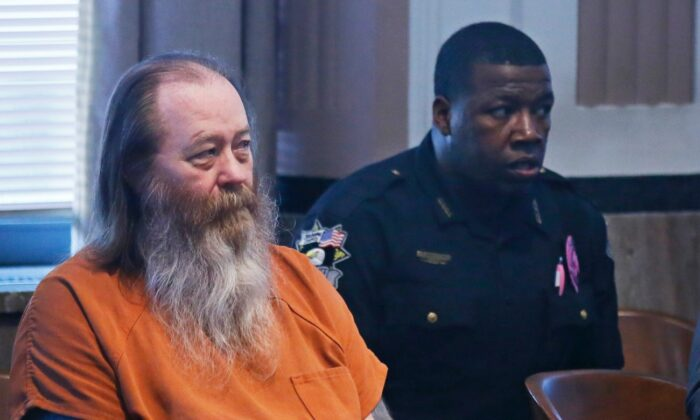 William Lewis Reece (L) waits for a hearing to begin in Oklahoma City, on Oct. 18, 2017. (Sue Ogrocki/File/AP Photo)