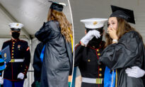 US Marine Said He Couldn't Attend Older Sister's Grad—But Appears for Heart-Stopping Reunion