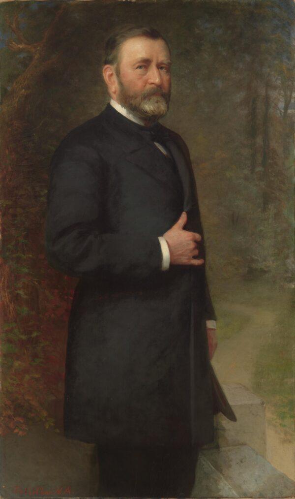 Portrait of Grant, National Portrait Gallery
