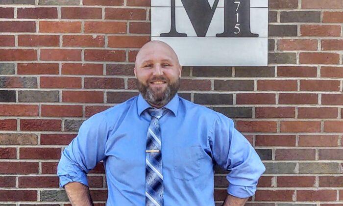 Jason Monn, the owner of Fat Monn's Grub restaurant is running for PA governor. (Courtesy of Janet Monn)