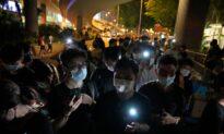 Hundreds Gather Near Hong Kong Park Despite Vigil Ban