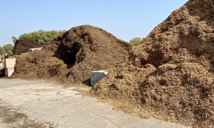 Mulch comes in a wide variety of forms and can be purchased in bags, or in some cases, by the truckload. (Sun Valley Landscaping)