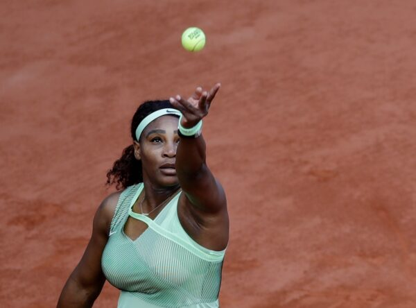 Serena Williams at French Open