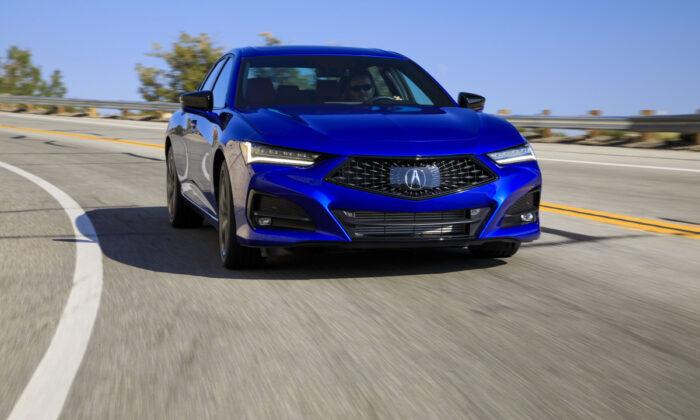 2021 Acura TLX. (Courtesy of Acura)