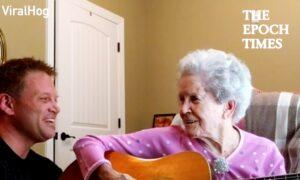 Adorable Singing Duo