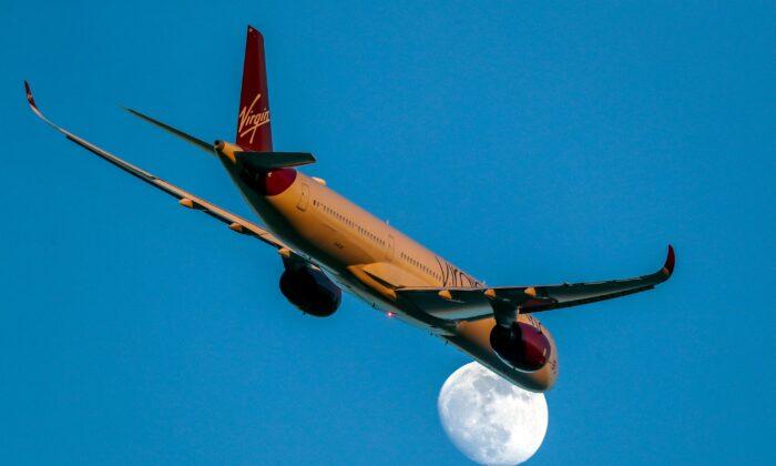 Undated photo of a Virgin Atlantic plane. (Steve Parsons/PA)