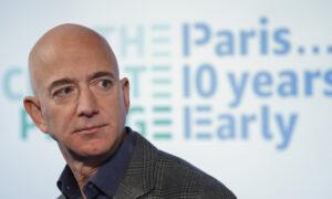 Bezos Plans to Go to Space Aboard Blue Origin Flight in July