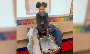 First-Grader Writes to Old Navy to Make Girls' Jeans With 'Real Pockets,' Receives Gifts