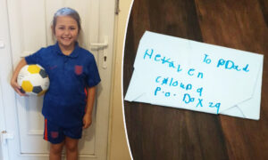 8-Year-Old Girl Writes Letter to Late Dad Addressed to 'Heaven, Cloud 9,' Gets Unexpected Response