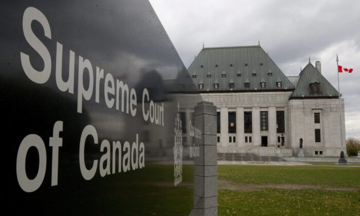 The Supreme Court of Canada in Ottawa in a file photo. (The Canadian Press/Adrian Wyld)