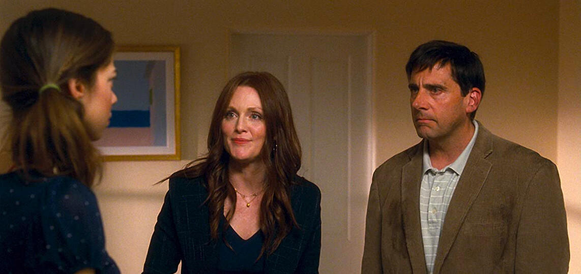 girl, woman, and man in Crazy Stupid Love