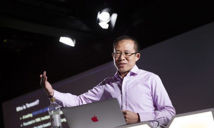 Martin Lau, President of Tencent attends a press conference at the Finnish game company Supercell headquarters in Helsinki on June 21, 2016.  (Seppo Samuli/AFP via Getty Images)