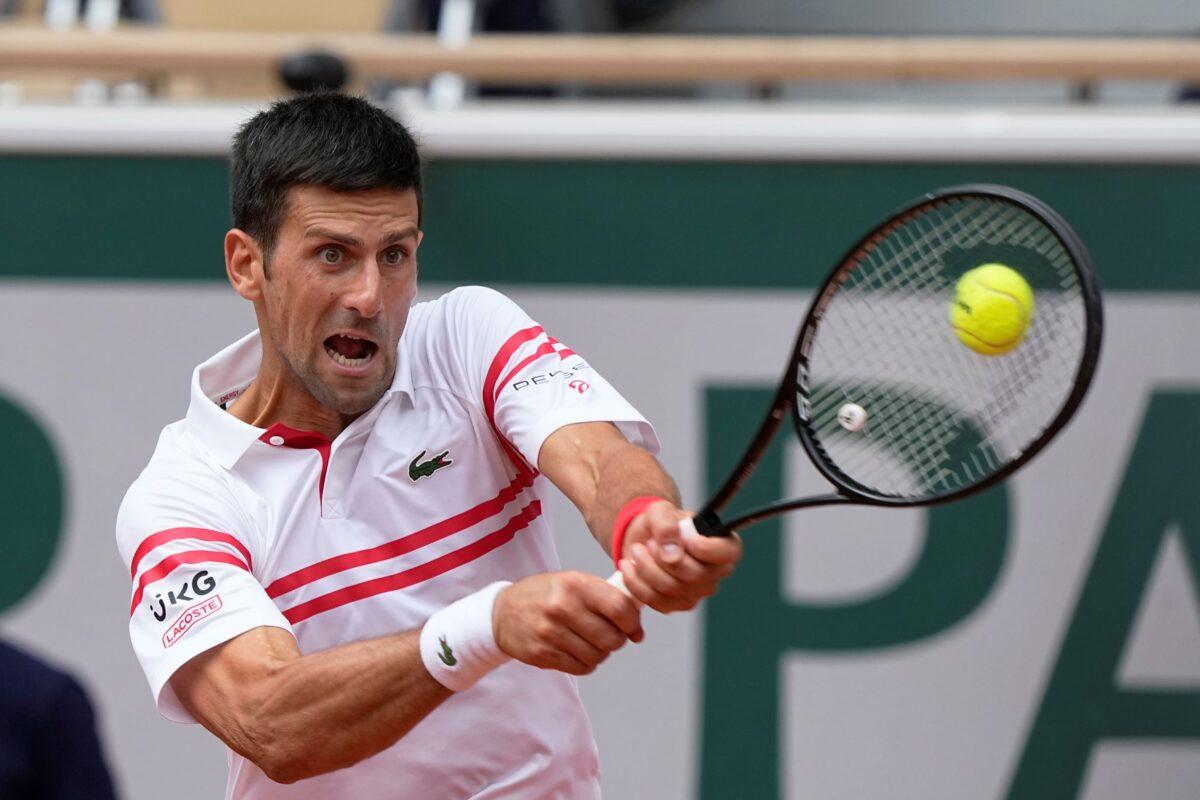 Novak Djokovic in Serbia
