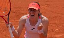 Unseeded Tamara Zidansek Reaches Semifinals at French Open