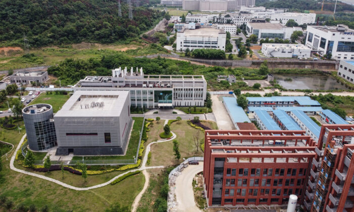 The P4 laboratory on the campus of the Wuhan Institute of Virology in Wuhan, China's central Hubei Province, on May 13, 2020. (Hector Retamal/AFP via Getty Images)
