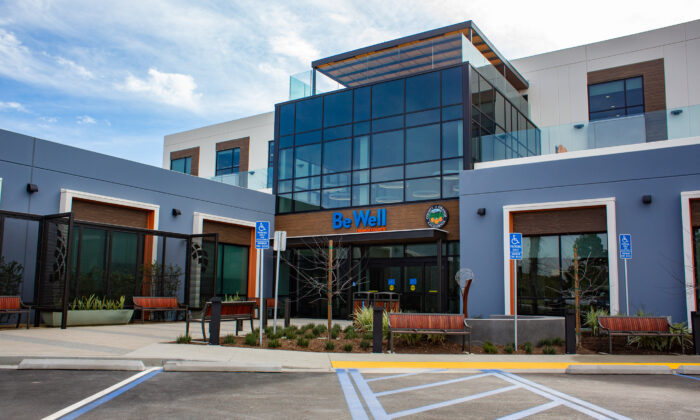 The Be Well Clinic in Orange, Calif., on Jan. 13, 2021. (John Fredricks/The Epoch Times)