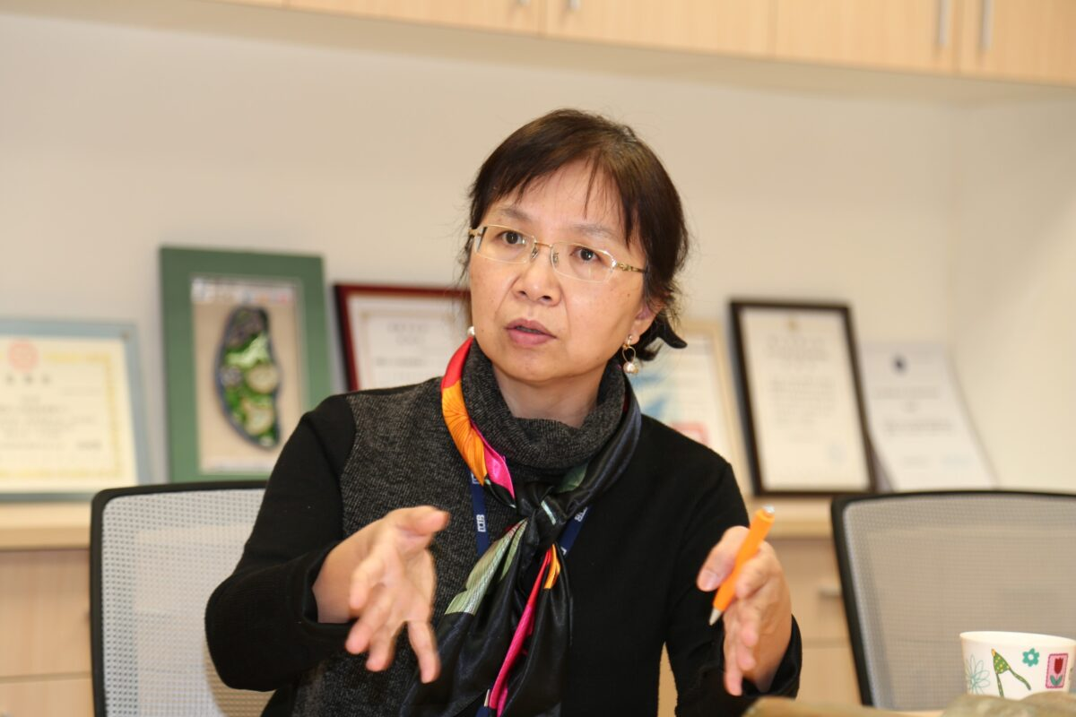 Chang Chi-feng, Vice-President of Taiwan's Development Center for Biotechnology. (The Epoch Times)